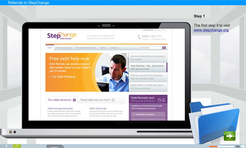 Referring a Tenant: StepChange Debt Charity e-Learning