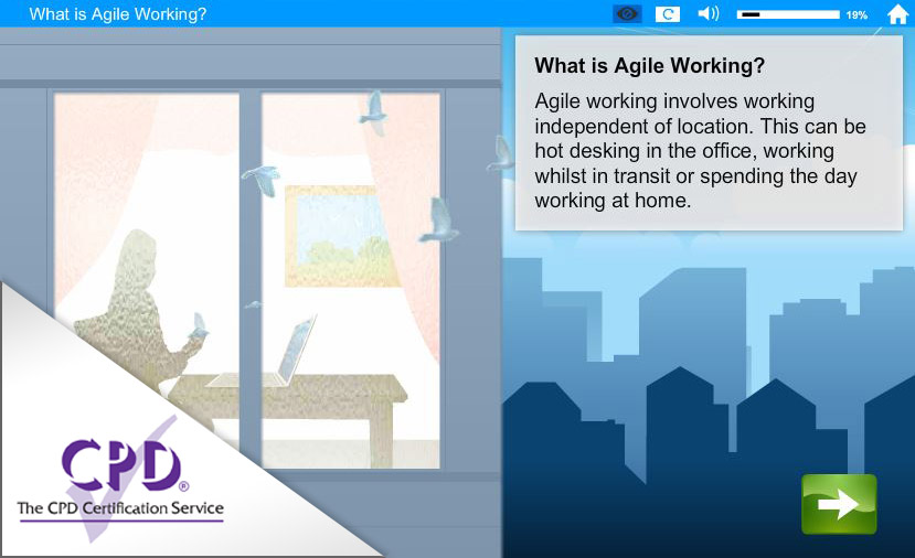 Home, Mobile or Agile Working e-Learning